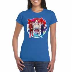 Toppers blauw toppers in concert 2019 officieel t shirt dames