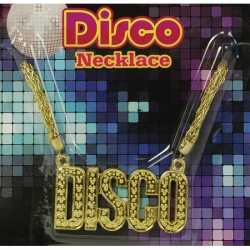 Toppers Disco ketting goud