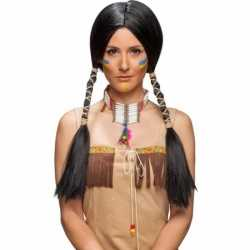Toppers luxe indianen pruik dames