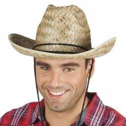 Toppers rieten cowboyhoed dallas volwassenen