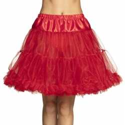 Toppers rode petticoat dames 45 cm