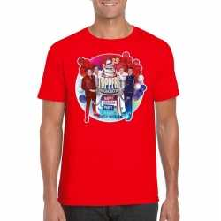 Toppers rood toppers in concert 2019 officieel t shirt heren