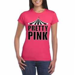 Toppers t shirt roze pretty pink dames