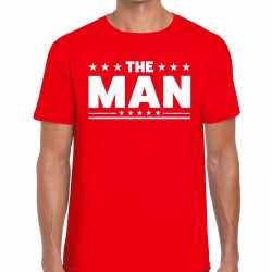 Toppers the man heren t shirt rood